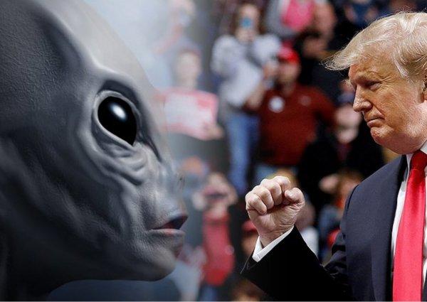 Корабль Трампа? На Марсе нашли НЛО пришельцев-колонизаторов