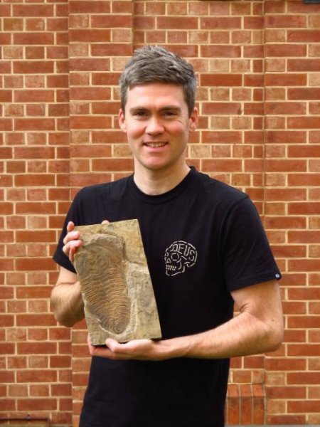 В Австралии найдены останки гигантского трилобита возрастом в 500 млн лет