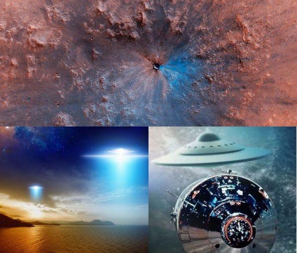 Жизнь на Марсе уничтожили пришельцы с Нибиру: Ануннаки обстреляли Красную планету из мощного оружия