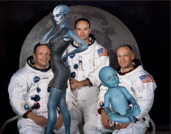 Дитя астронавта и пришельца: Учёные на МКС собираются скрестить человека и аннунака с Нибиру