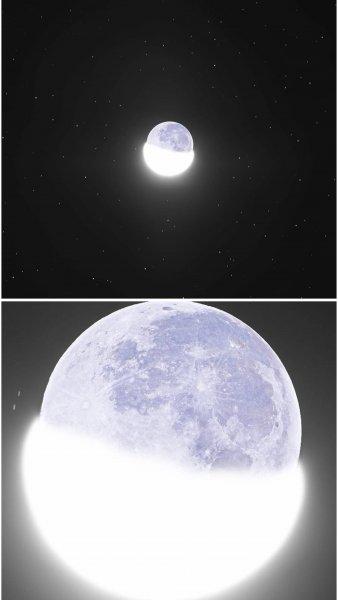 Луна превращается в кокон. Пауки с Нибиру заселили спутник Земли