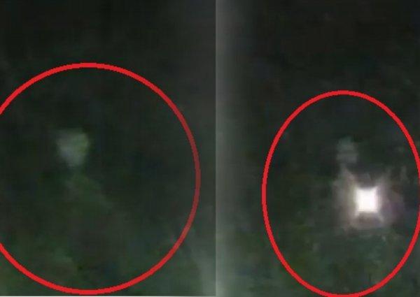 Нибиру высадила первых разведчиков: Пришелец с фонариком напал на россиянина