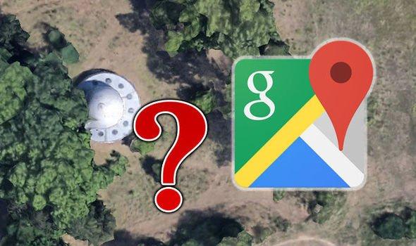 Пришельцы на Google-картах. Глобальная система используется для поиска НЛО