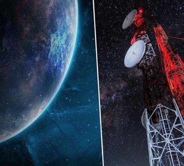 Астрономы приняли радиосигнал от далёкой массивной галактики