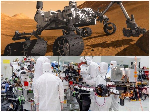 «Пощупает кратеры»: Марсоход Mars 2020 получил роботизированную руку