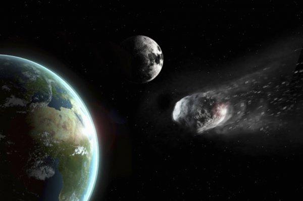 «Он улетел»: Опасный астероид прошёл между Луной и Землёй