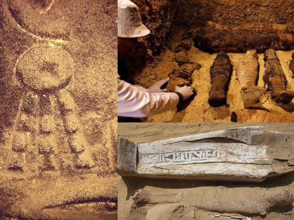 Гости из будущего: В Египте нашли древние мумии путешественников во времени