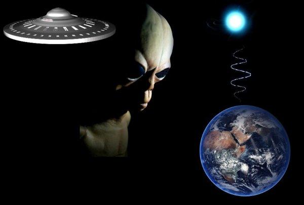 Инопланетный сигнал: Маяк пришельцев пытается выйти на связь с людьми