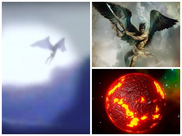 Ангел с Нибиру: Пришелец с крыльями спустился с небес в Дагестане
