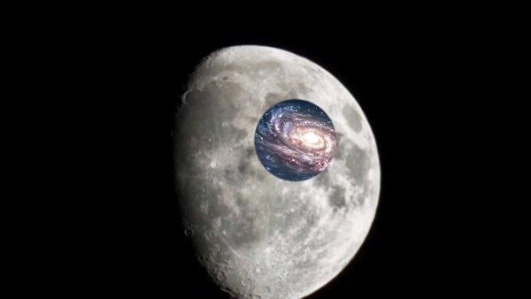 Луна разваливается на части! В земном спутнике обнаружена сквозная дыра