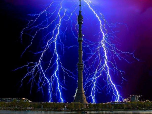 Грозу заказывали? НЛО ударил молнией и обесточил Останкинскую телебашню — эксперт