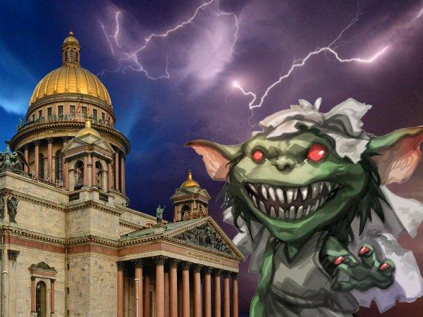 Воет и бегает на четвереньках: Гоблин с Нибиру наводит ужас на жителей Санкт-Петербурга