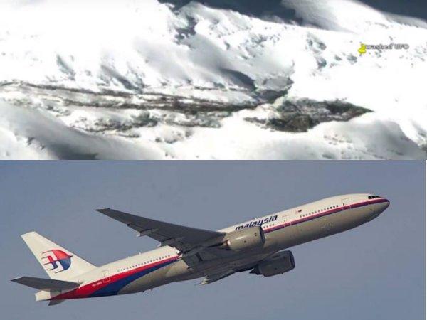 Пассажиры малазийского Боинга в плену у Нибиру: В Антарктиде нашли вход в секретную базу