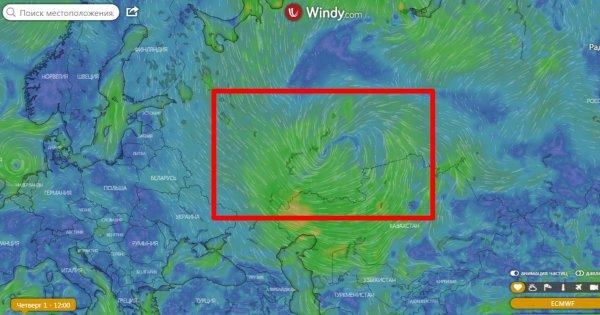 «Воронка Х» над Россией: Метеорологи зафиксировали старт Ледникового периода на Земле
