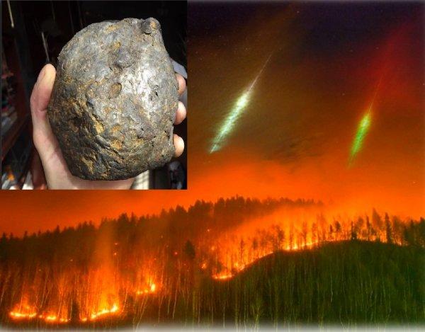 В Заполярье упало 13 метеоритов: Нибиру растопит Арктику ради добычи алмазов