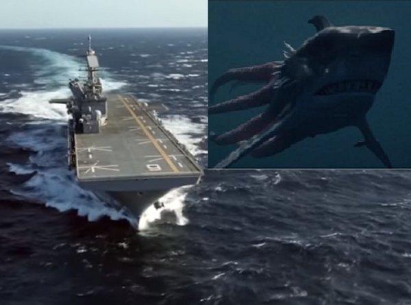 Кракены атакуют авианосцы: Возле Владивостока засекли жуткую тварь