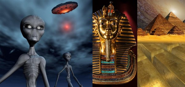 Нибиру в Египте? НЛО пойман во время влёта в портал пирамиды