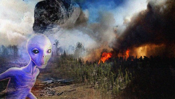 Апокалиптический метеорит 10 августа потушит пожары в Сибири – уфологи