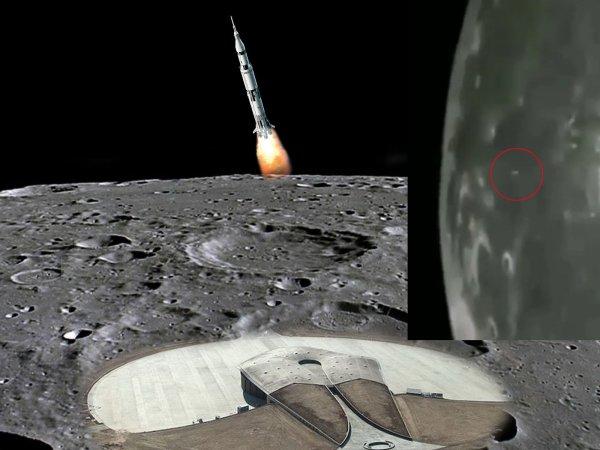 Лунный космодром Нибиру: Пришельцы впервые запустили ракету со спутника Земли