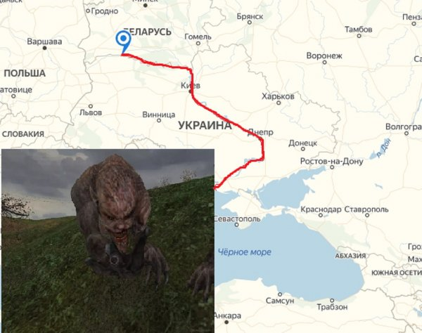 Рыба, мясо и мутант: В Чернобыле выловили чешуйчатого свинозавра