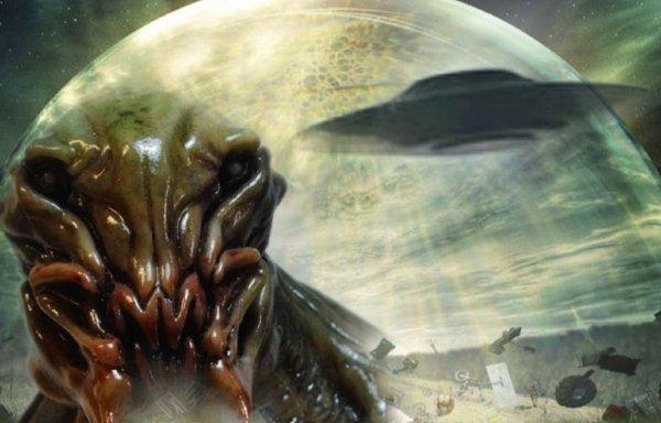 Украина заражена? Пришельцы ограждают Киев космическим куполом