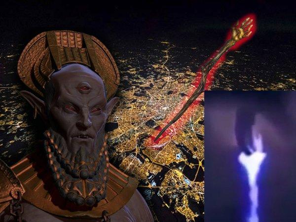 Место решающей битвы: Посох царя Нибиру навис над Москвой
