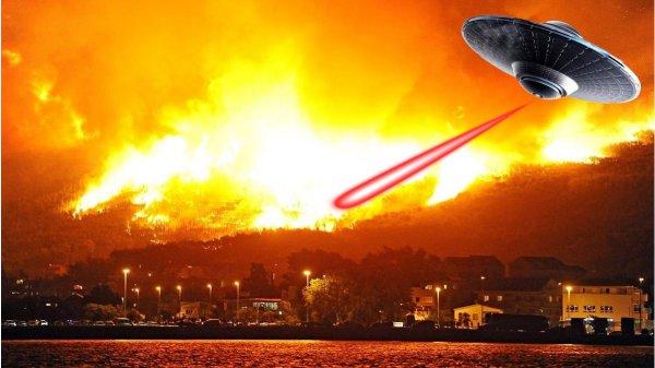 «Из России с любовью!»: Вслед за Сибирью пришельцы подожгли Канарские острова – эксперт