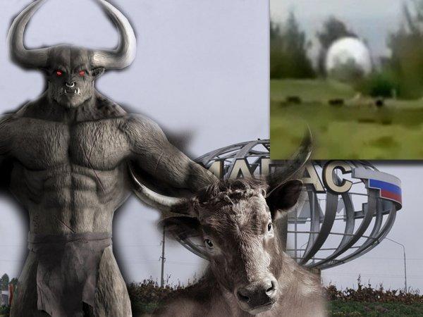 Минотавры-людоеды вышли на охоту: Пришельцы крадут коров на Кавказе для создания чудовищ