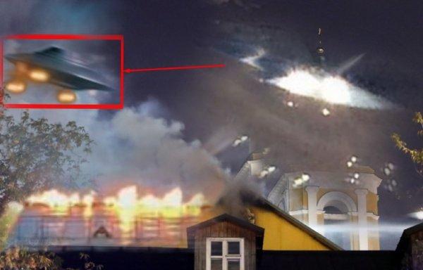 Инопланетная саранча: Рой пришельцев поджег женский монастырь в Москве