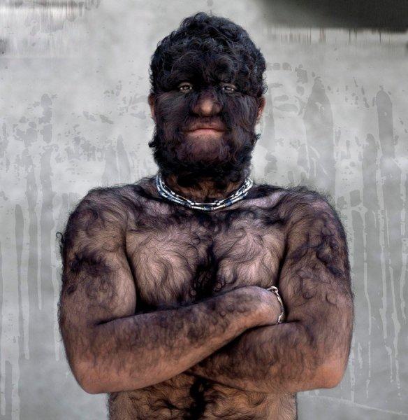 Волкожраки с Нибиру: Сибирский оборотень из глуши случайно попал на фото