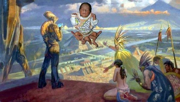 Сын Бога Нибиру. В Китае родился ребенок с двумя головами