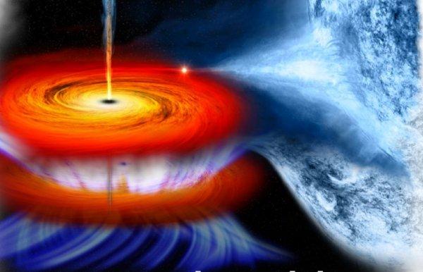 Земля исчезнет: Черная дыра начала засасывать Солнечную систему