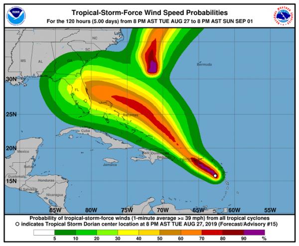 «Поймали гадёныша!» В центре урагана Дориан замечен корабль с Нибиру