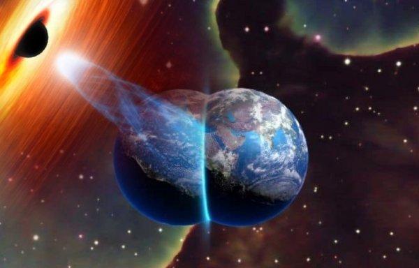 Млечный Путь взорвётся: Чёрная дыра притягивает параллельную Вселенную