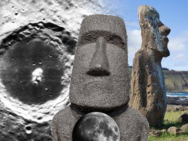 Люди двигали Луну? Идолы на острове Пасхи «вертят» наш спутник