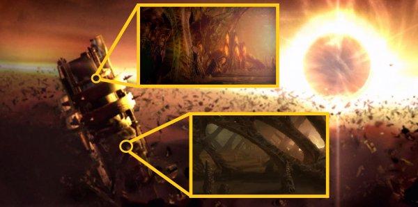 Они ждут нас: Гигантский флот обнаружен в центре нашей галактики