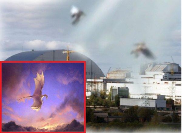 Чернобыль горит! Драконов Нибиру засекли над реактором