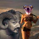 Козёл отпущения? У мужчины вырос «каменный» рог после контакта с амазонкой Нибиру