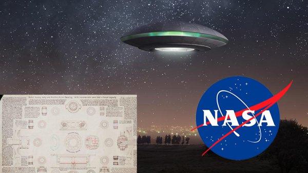 NASA скрывало 50 лет! Слитый в сеть чертёж НЛО разоблачил «ученых» агентства
