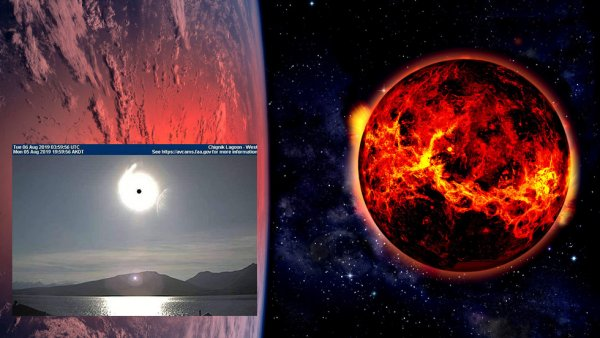 «Прикончит Россию!» Нибиру загородила Солнце, чтобы нанести последний удар – уфологии