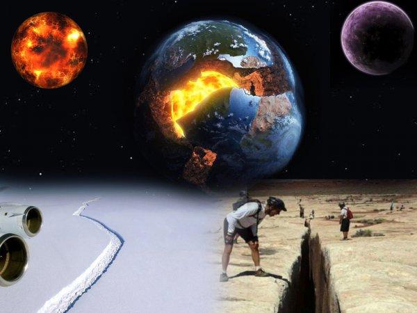 Земля линяет! Нибиру и Мардук расшатали земное ядро