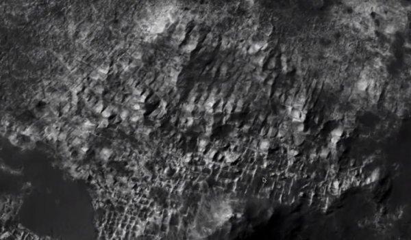 На Марсе нашли руины древнего города — Красная планета прячет Атлантиду?