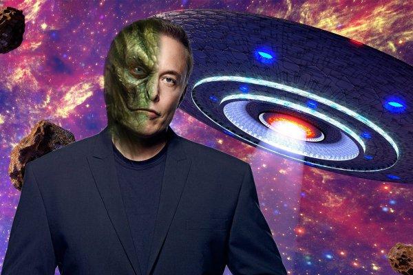 Илон Маск – рептилоид? Успешный изобретатель покрывает пришельцев