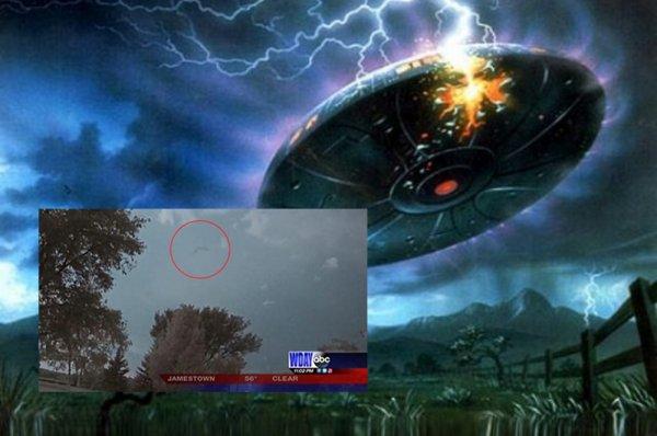 «Подкоптили лупоглазого с Нибиру»: Корабль пришельца-лазутчика подбили вблизи Вашингтона
