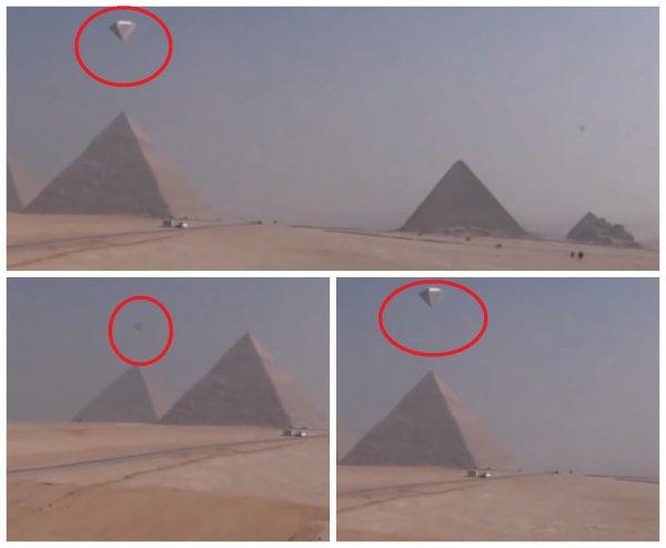 Пирамиды Гизы взлетели в небо и покидают Египет. Притяжения больше нет?