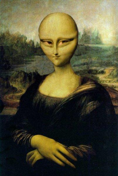 Хвостатые ануннаки похитили великую Мону Лизу