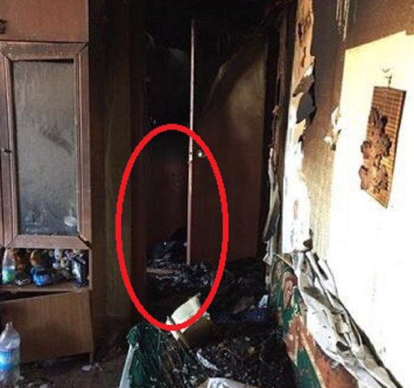 «Я без брата не уйду»: Призрак погибшего ребёнка засняли на месте пожара