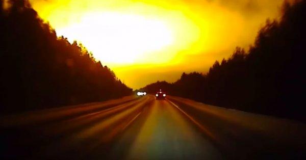 Нибиру сгорела на закате. Над Москвой сфотографировали взрыв Планеты Х