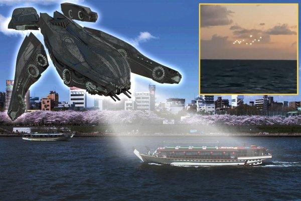 Новый филадельфийский эксперимент? Пришельцы похитили паром с пассажирами