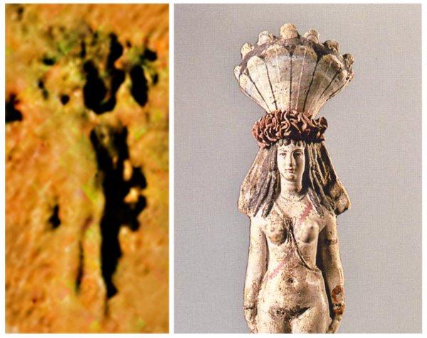 Принцесса Марса— Статую греческой Афродиты нашли на другойпланете